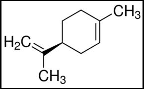 molecola limonene