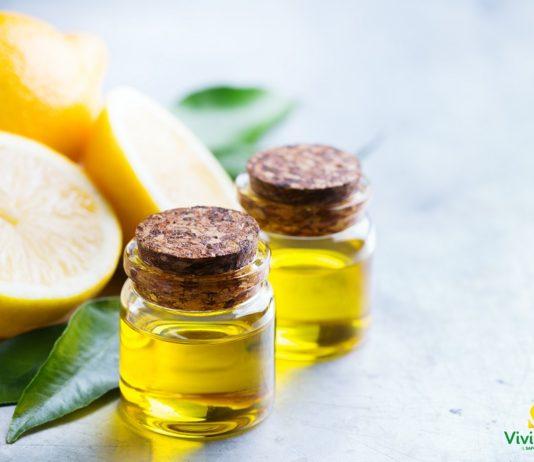 olio rivitalizzante al limone