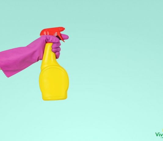 Superfici igienizzate al profumo di limone