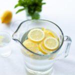 acqua e limone rituale di benessere